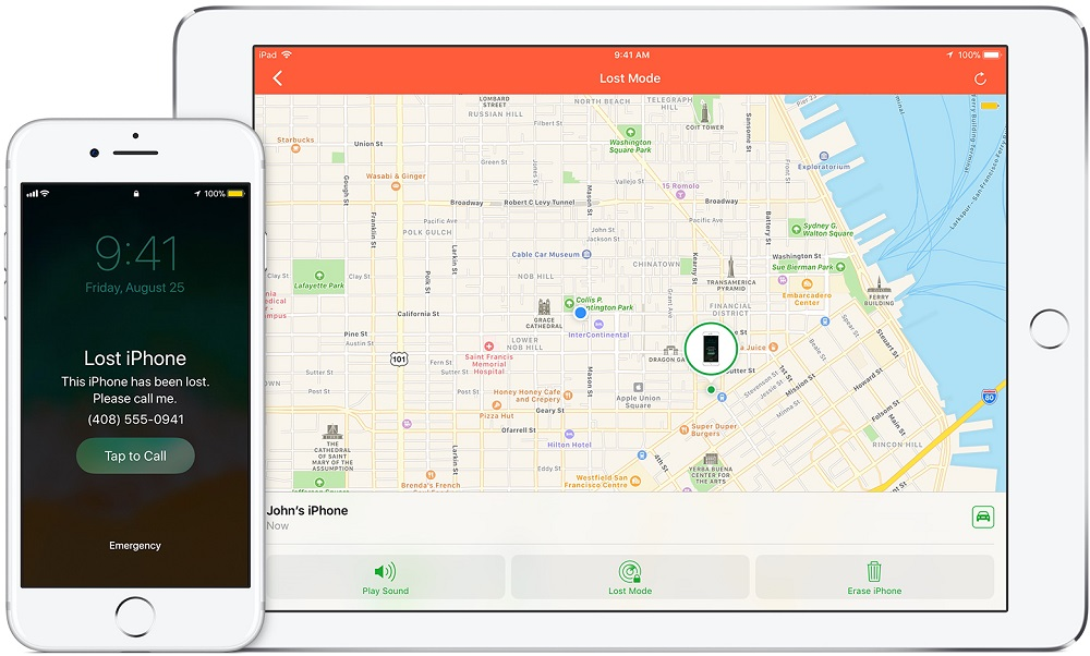 Track Lost iPhone or iPad Without Any App